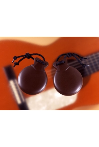 Orozco Castanets Brown No. 7 Professional