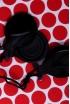 Castañuelas Vidrio Negro Doble Caja Especial Profesores, la Precisión