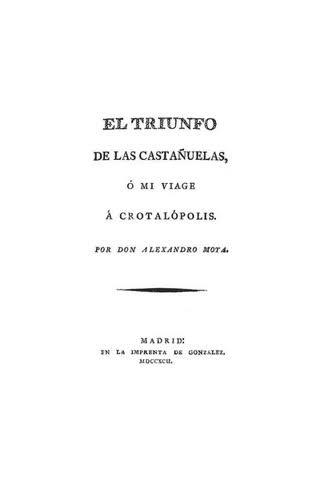 """""""Le Triomphe des Castagnettes"""""""