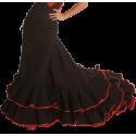 Cola Jupe Danse Flamenco Romance