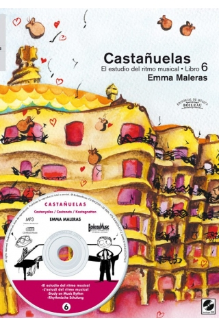 """""""Castanets: The Study of Musical Rhythm 6"""""""