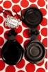 Special Black Glass Castanets Teachers, the Soloist