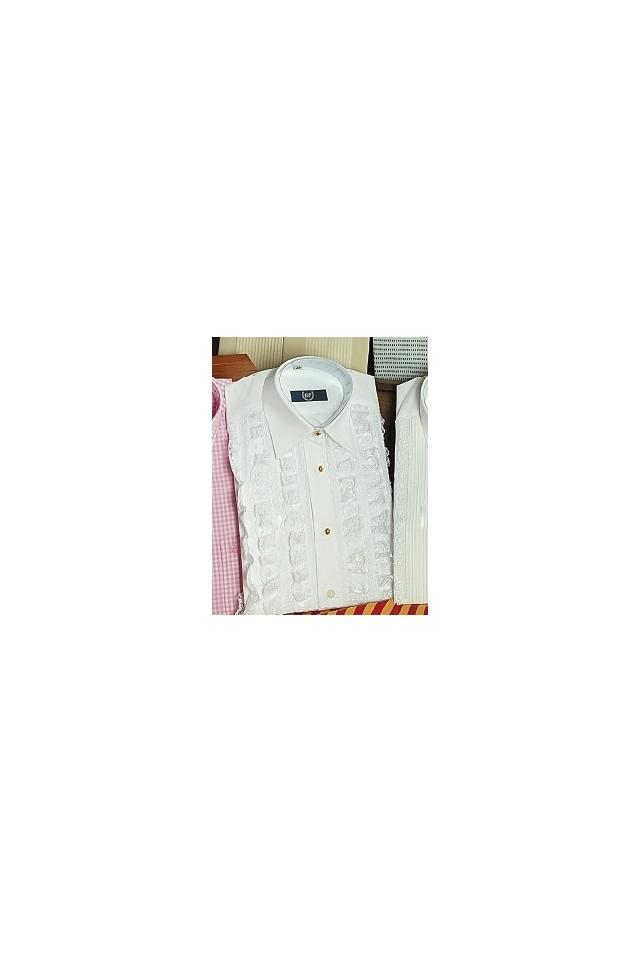 Camisa Encaje Blanca Bambino