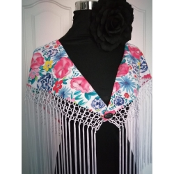 Shawl Royal Flamenco