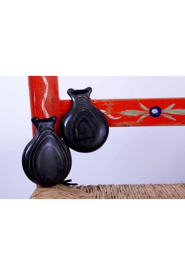 Granadillo Castanets Teachers Special Veined, the Charm
