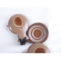 Castagnettes Tissu Caramel pour professionnels, les Gitanes Blondes