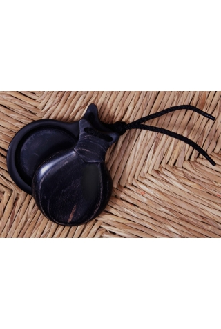 Professional Marbled Castanets Granadillo, the Andalusian
