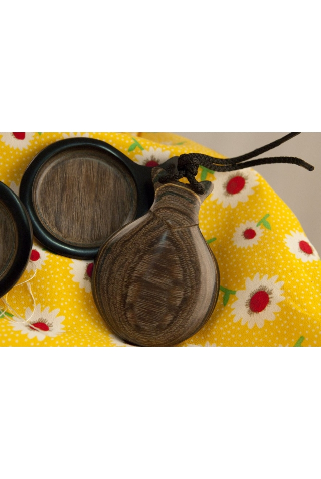 Woodgrain Castanets Gray, the Poetry